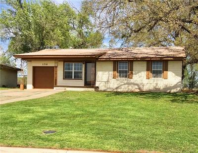 Elk City Single Family Home For Sale: 170 Blackburn