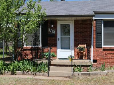 Midwest City Single Family Home For Sale: 303 W Mimosa Drive