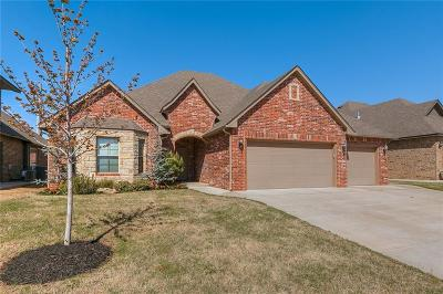 Lincoln County, Oklahoma County Single Family Home For Sale: 17605 Braken Drive