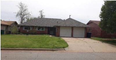 Canadian County, Oklahoma County Single Family Home For Sale: 1412 NW 105th Terrace