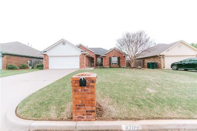 Oklahoma City Single Family Home For Sale: 8709 Jenny Lane