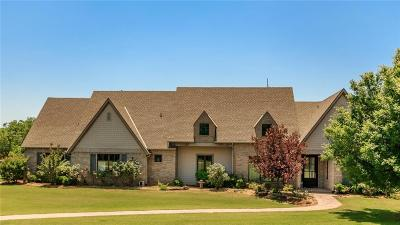 Luther Single Family Home For Sale: 13800 E Sorghum Mill Rd./234 Road