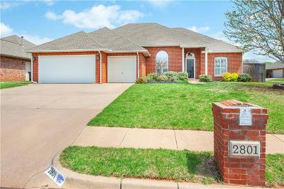 Edmond Single Family Home For Sale: 2801 Stafford Road