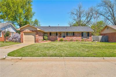 Oklahoma City Single Family Home For Sale: 2609 Huntleigh Drive