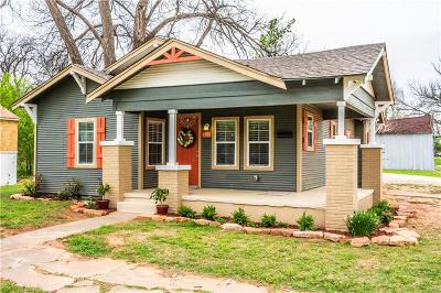 Guthrie Single Family Home For Sale: 1202 W Warner Avenue