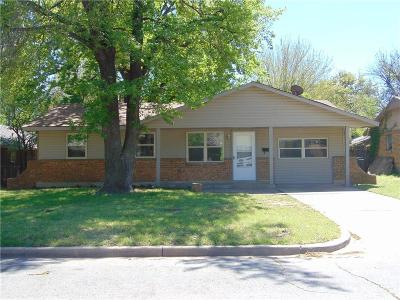 Oklahoma City Single Family Home For Sale: 7212 NW 7th Street