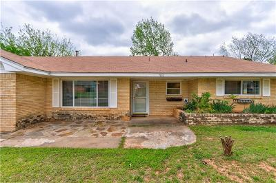 Midwest City Single Family Home For Sale: 3002 Belaire Drive