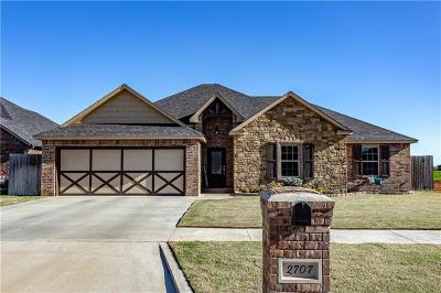 Weatherford Single Family Home For Sale: 2707 Falling Leaves Drive