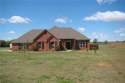 Blanchard Single Family Home For Sale: 23707 Dibble Creek Road