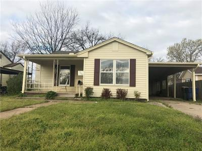 Chickasha OK Single Family Home Sold: $53,000