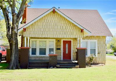 Chickasha Single Family Home For Sale: 1027 S 18th Street