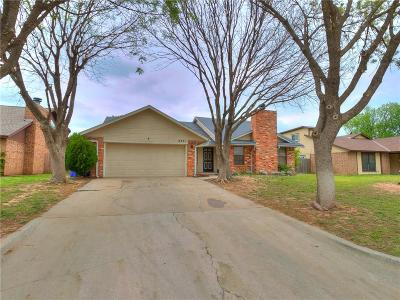 Oklahoma City OK Single Family Home For Sale: $163,500