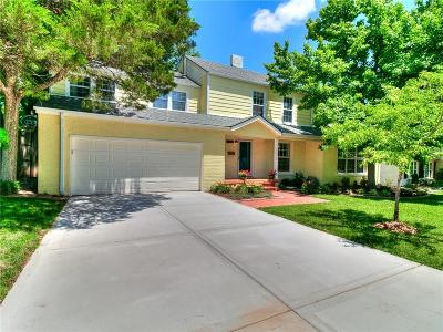 Nichols Hills Single Family Home For Sale: 1123 Hemstead Place