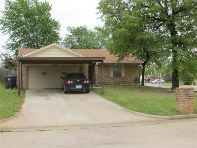 Midwest City Single Family Home For Sale: 1800 Tim Drive