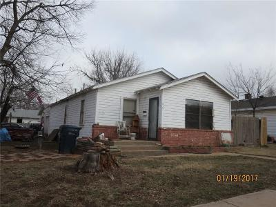 Oklahoma City Single Family Home For Sale: 627 SE 22nd Street