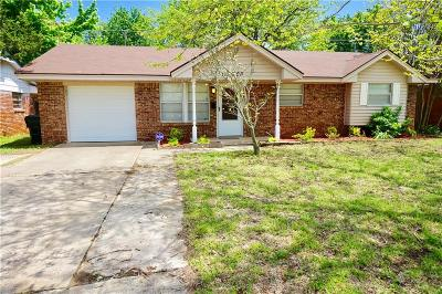 Midwest City Single Family Home For Sale: 808 Moraine Avenue
