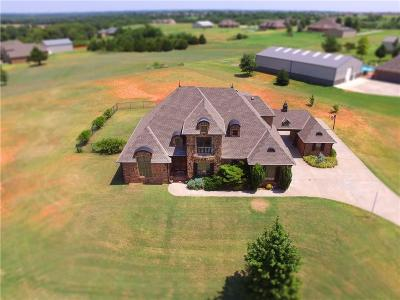 Tuttle Single Family Home For Sale: 3601 Blue Stem Drive