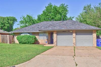 Oklahoma City Single Family Home For Sale: 9805 Waverly Avenue