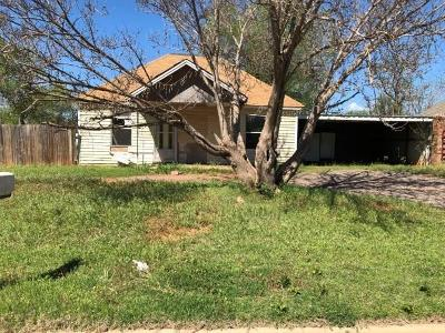 Elk City Single Family Home For Sale: 513 S Randall Avenue