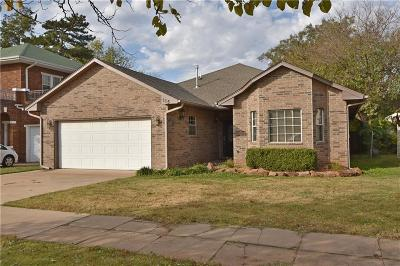 Guthrie Single Family Home For Sale: 115 N Capitol Street