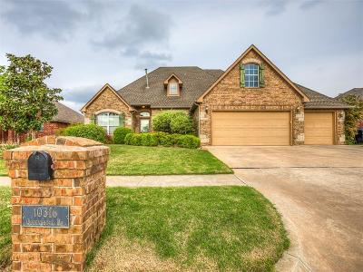 Yukon Single Family Home For Sale: 10316 Queensbury Place
