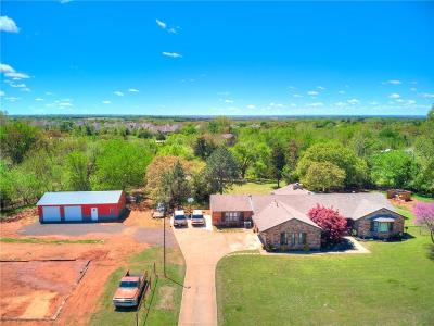 Edmond Single Family Home For Sale: 4913 Mill Creek Road