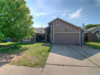 Midwest City Single Family Home Pending: 1801 Mark Wood Street