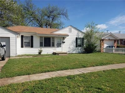 Midwest City Single Family Home For Sale: 417 Moiselle Street