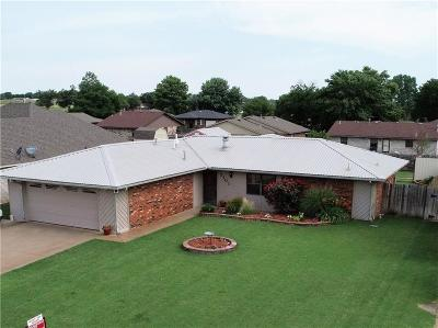 Weatherford Single Family Home For Sale: 2101 Morgandee Street