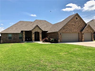 Tuttle Single Family Home For Sale: 1324 Antler Rdg