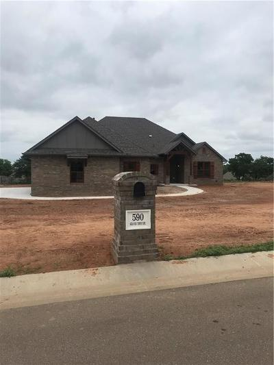 Choctaw Single Family Home For Sale: 590 Silver Tree Drive