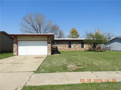 Norman Single Family Home For Sale: 2309 Memphis Drive