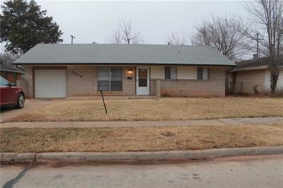 Del City Single Family Home For Sale: 3017 Chetwood Drive