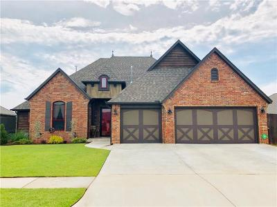Mustang Single Family Home For Sale: 4608 Kentucky Ridge Drive