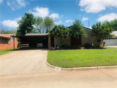 Midwest City Single Family Home For Sale: 3816 Bella Vista Drive