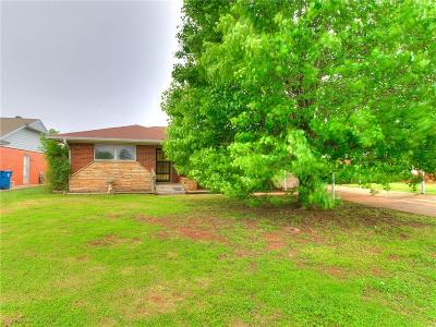 Midwest City Single Family Home For Sale: 236 W Pratt Drive