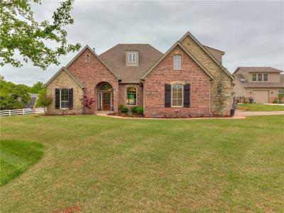 Edmond Single Family Home For Sale: 1709 Mill Creek Road