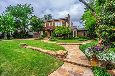 Nichols Hills OK Single Family Home Sold: $1,125,000