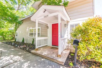 Norman Single Family Home For Sale: 1605 Oklahoma Avenue