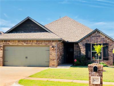 Edmond Single Family Home For Sale: 3413 NW 164th Terrace
