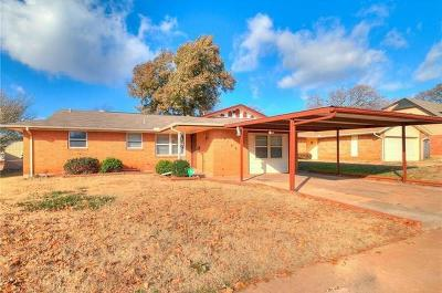 Del City Single Family Home For Sale: 4109 Clendon Way