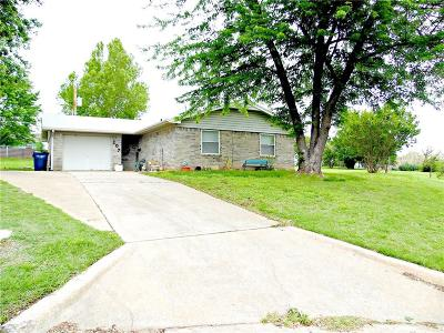Chickasha Single Family Home For Sale: 107 Taff Drive