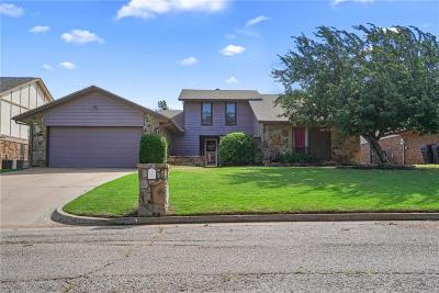 Edmond Single Family Home For Sale: 14116 Osage Drive