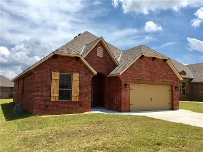 Choctaw Single Family Home For Sale: 2410 Forest Crossing Drive