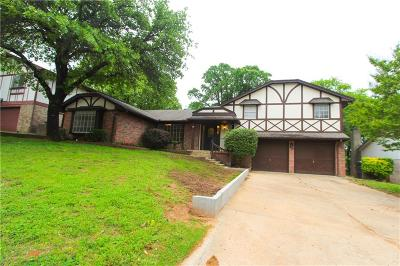 Midwest City Single Family Home For Sale: 213 Chaucer Crescent Street