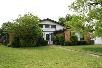 Edmond Single Family Home For Sale: 712 NW 139th Street