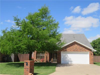 Altus OK Single Family Home For Sale: $147,500