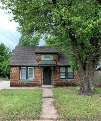 Norman Single Family Home For Sale: 216 S Lahoma Avenue