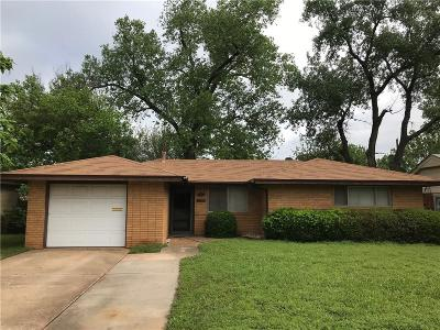 Del City Single Family Home For Sale: 3301 Greenbrier Terrace