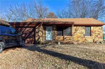 Del City Single Family Home For Sale: 2320 McCracken Drive